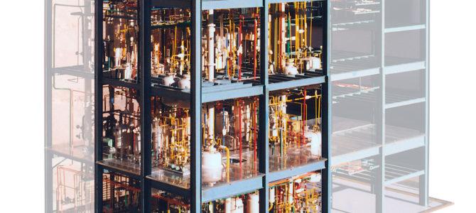 Restauration einer Chemieanlage