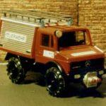 Unimog von Cursor umgebaut für Waldbrandeinsatz