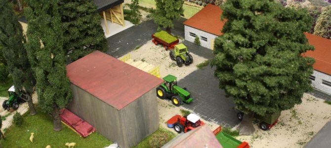 Ein Diorama in 1:50 für die Land-und Forstwirtschaft