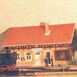 Bahnhof mit Lok